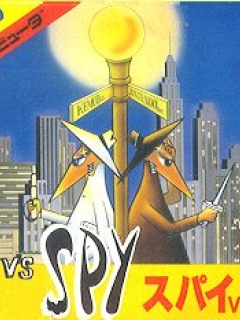 Computer Game Famicom Electronic Boxed 'Spy vs Spy'