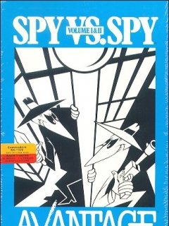 Go to Computer Game Advantage 'Spy vs Spy' (C-64/128) • USA