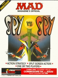 Computer Game 'Spy vs Spy' Vol. 1 (C-64/ATARI) • USA