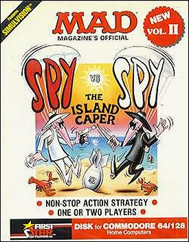 Computer Game 'Spy vs Spy' Vol. 2 (C-64/128) • USA