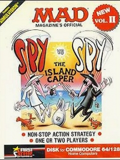 Go to Computer Game 'Spy vs Spy' Vol. 2 (C-64/128) • USA