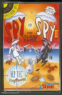 Computer Game 'Spy vs Spy' Spectrum Software #2 • Great Britain