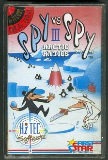 Computer Game 'Spy vs Spy' Spectrum Software #3 • Great Britain