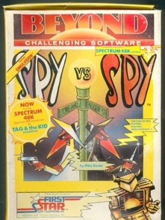 Computer Game 'Spy vs Spy' Beyond Software Cassette • Great Britain