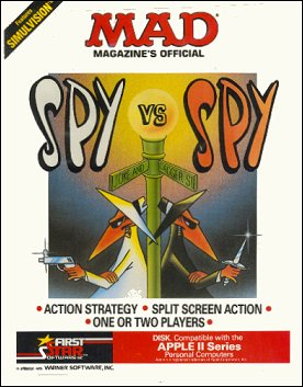 Computer Game 'Spy vs Spy' Apple II • USA