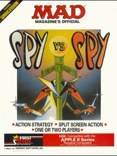 Go to Computer Game 'Spy vs Spy' Apple II • USA