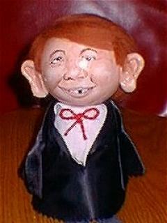 Go to Doll Alfred E. Neuman Flower Pot • USA