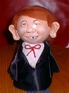 Image of Doll Alfred E. Neuman Flower Pot