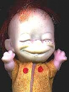 Doll  Alfred E. Neuman like Happy Chap • Japan