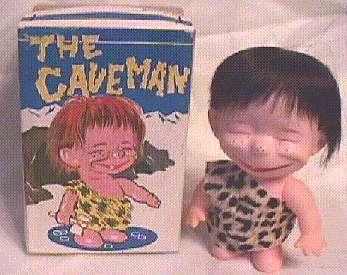 Doll Alfred E. Neuman like Hapy Chap Cavemen • USA
