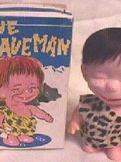 Doll Alfred E. Neuman like Hapy Chap Cavemen • USA