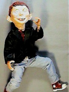 Go to Doll Jointed Alfred E. Neuman • USA