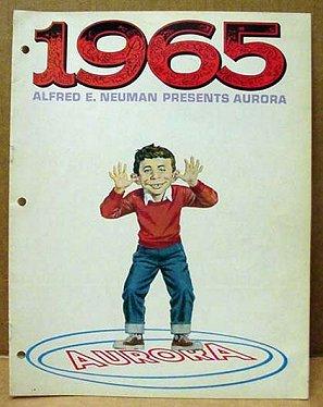 Model Catalog Aurora with Alfred E. Neuman • USA
