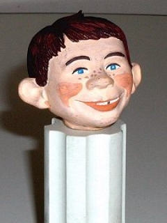 Go to Prototype Alfred E. Neuman Head for Aurora Model • USA