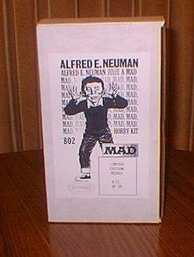 Model Kit Plastic Alfred E. Neuman (Recast) • USA