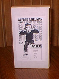 Go to Model Kit Plastic Alfred E. Neuman (Recast) • USA