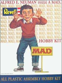 Go to Model Kit Re-Issue Alfred E. Neuman (Revell Version) • USA