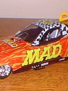 Go to Model Kit 'Jerry Toliver MAD Car' (Assembled) Revell / Monogram • USA