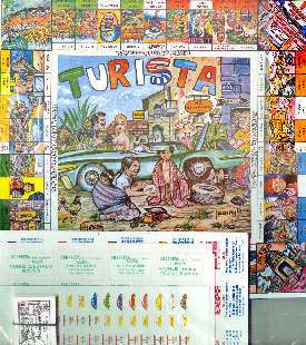 Board Game Mexican Turista Game • Mexico