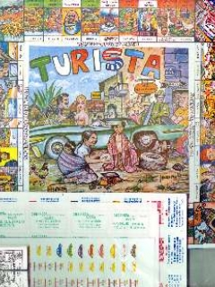 Board Game Mexican Turista Game
