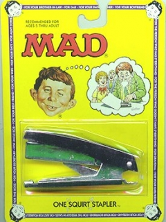 Squirt Toy MAD 'Stapler' • USA