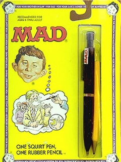 Go to Squirt Toy MAD 'Pen & Pencil Set' • USA