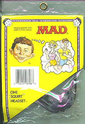 Squirt Toy MAD 'Headset' • USA