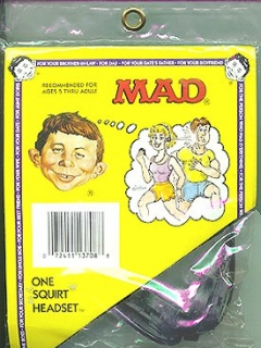 Go to Squirt Toy MAD 'Headset' • USA