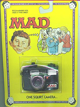 Squirt Toy MAD 'Camera' • USA