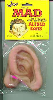 False Ears Alfred E. Neuman • USA