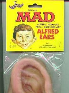 False Ears Alfred E. Neuman • USA