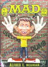 Bendie Toy Alfred E. Neuman (Version #2) • USA