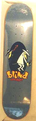 Skateboard Spy vs Spy 'Blind Creager' • USA