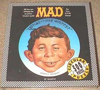 Jigsaw Puzzle MAD Magazine • USA