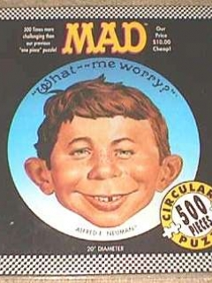 Jigsaw Puzzle MAD Magazine • USA