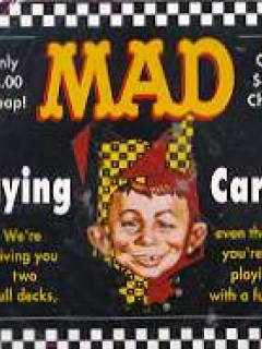 Card Game MAD Magazine Playing Cards • USA