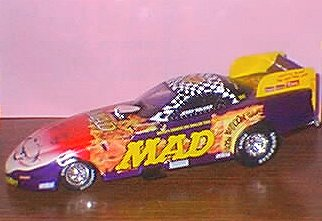Die Cast Model Jerry Toliver Action 'MAD' (1/24) • USA