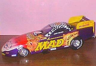 Die Cast Model Jerry Toliver Action 'MAD'(1/24) • USA