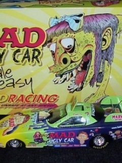 Go to Die Cast Model Dale Creasy MAD Racing Funny Car 'Ugly Car' (1/24) • USA