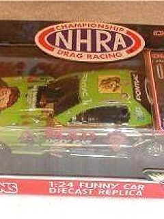 Go to Die Cast Model Dale Creasy MAD Racing Funny Car Racing Champion 'Ugly Car' (1/24) • USA