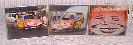 Framed Color Photos of the MAD Funny Car • USA