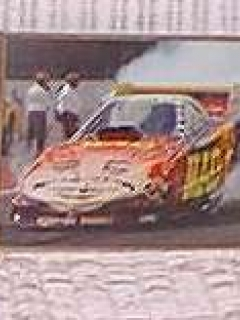 Go to Framed Color Photos of the MAD Funny Car • USA