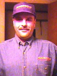Denim Shirt Racing Jerry Toliver • USA