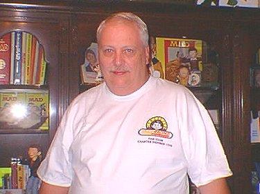 T-Shirt Jerry Toliver Fan Club Charter • USA