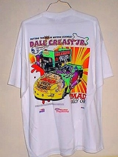 Go to T-Shirt Dale Creasy Funny Car #4 • USA