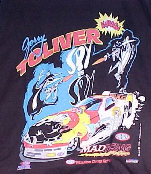 T-Shirt Jerry Toliver Spy vs Spy Funny Car #2 • USA
