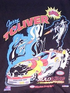 Go to T-Shirt Jerry Toliver Spy vs Spy Funny Car #2 • USA