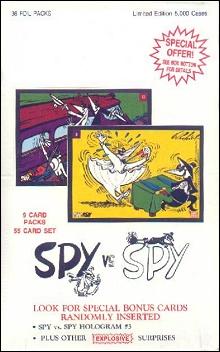 Trading Cards Spy vs Spy Series #2 • USA