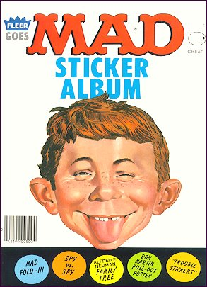 Fleer Sticker Album • USA • 1st Edition - New York