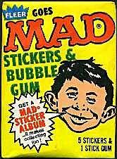 Fleer Sticker Package • USA